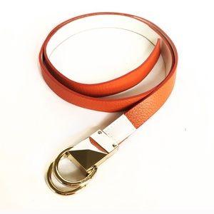 Michael Kors Leather Reversible Belt